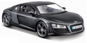 Picture of AUDI R8 Die-Cast Model MATT Black [Scale 1:24] - MAISTO Special Edition