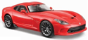 Picture of 2013 SRT DODGE VIPER GTS Die-Cast Model RED [Scale 1:24] - MAISTO Special Edition